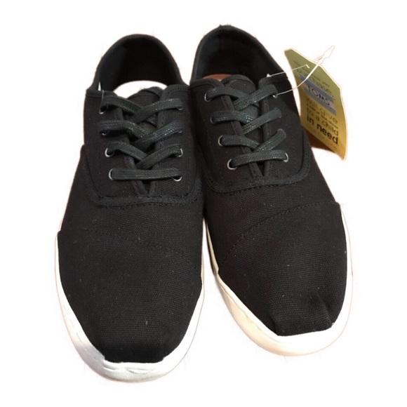92cdcdd8c4e Toms Women s Donovan Shoe Black Canvas Casual 9